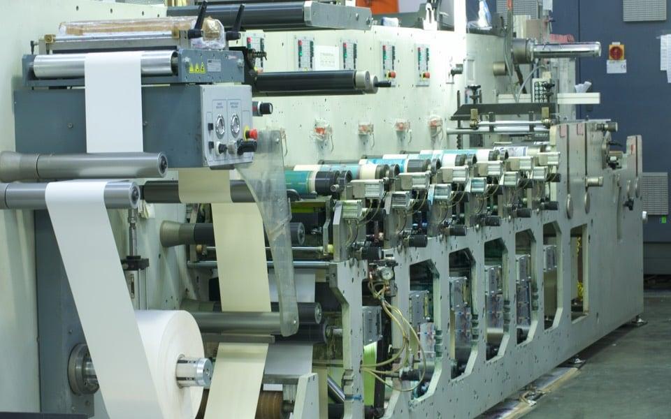 Производство. Оборудование для печати