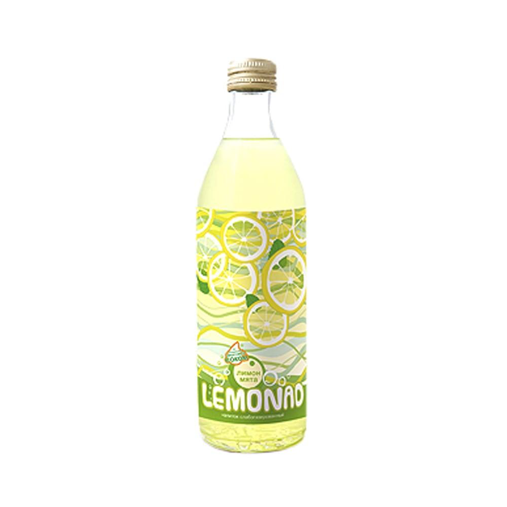 Сухая этикетка на лимонад
