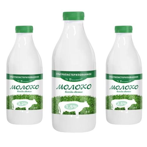 Оборачиваемые этикетки на молочную продукцию