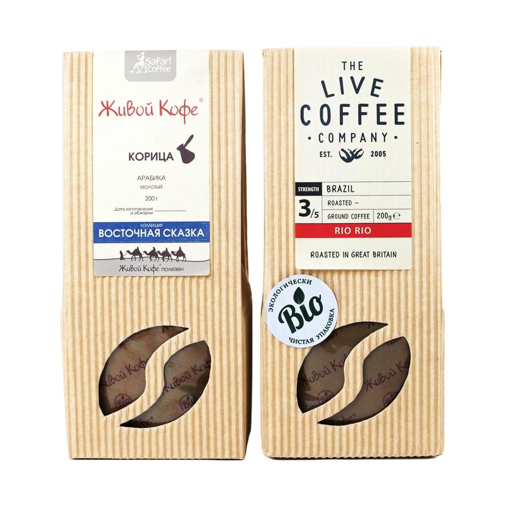 Картонные этикетки для кофе