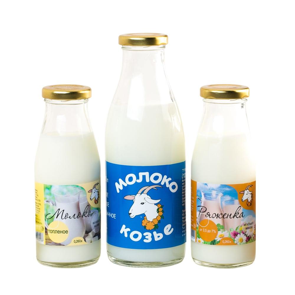Самоклеящиеся этикетки на молочную продукцию